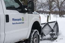 Minneapolis trail snow removal