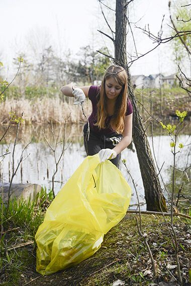 Cleanup at Creekview Park