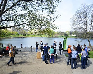 Cleanup at Loring Park