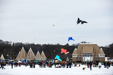 Lake Harriet Winter Kite Festival 2017