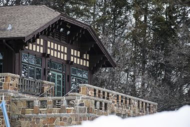Events at Wirth Chalet Fireplace Room