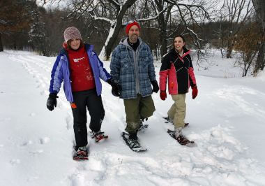 Winter Recreation at Wirth Park