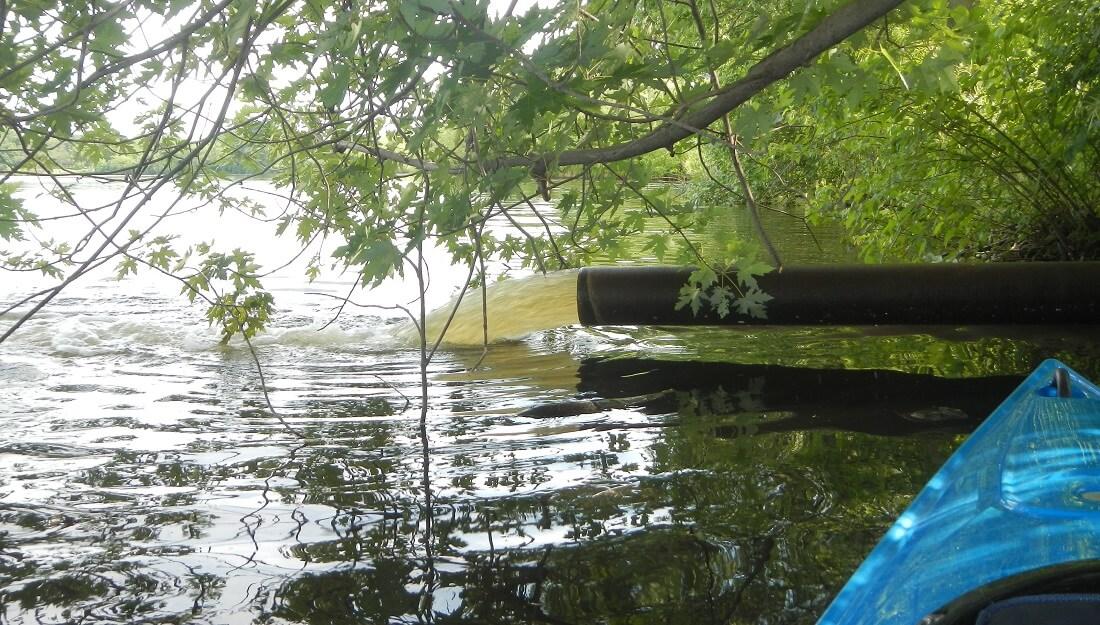Lake Hiawatha water pump