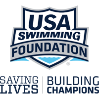 Logo for USA Swimming Foundation.