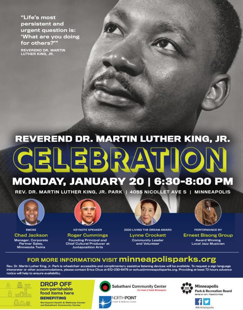 Martin Luther King Jr. Celebration Flyer